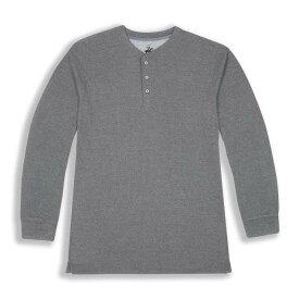 ビバリーヒルズポロ BHPC メンズ 長袖Tシャツ トップス【Long Sleeve Crewneck Knit T-Shirt】MEDIUM GREY
