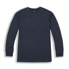 ビバリーヒルズポロ BHPC メンズ 長袖Tシャツ トップス【Long Sleeve Crewneck Knit T-Shirt】Navy