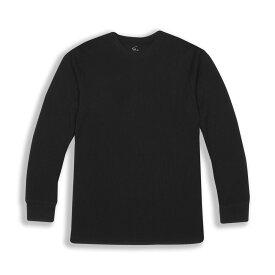 ビバリーヒルズポロ BHPC メンズ 長袖Tシャツ トップス【Long Sleeve Crewneck Knit T-Shirt】Black
