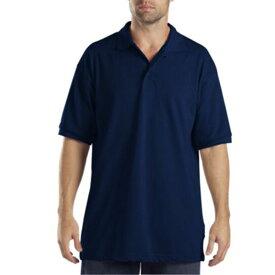ディッキーズ Dickies メンズ ポロシャツ トップス【Adult Short Sleeve Pique Polo】Navy