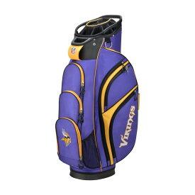 ウィルソン Wilson ユニセックス ゴルフ カートバッグ【Minnesota Vikings Cart Golf Bag】Purple