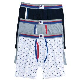 チャンピオン Champion メンズ ボクサーパンツ 3点セット インナー・下着【Everyday Comfort 3 Pack Boxer Briefs】Blue