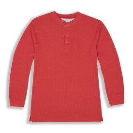 ビバリーヒルズポロ BHPC メンズ 長袖Tシャツ トップス【Long Sleeve Crewneck Knit T-Shirt】Red