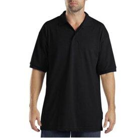 ディッキーズ Dickies メンズ ポロシャツ トップス【Adult Short Sleeve Pique Polo】Black