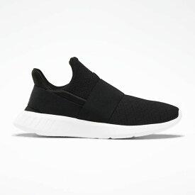 リーボック Reebok レディース スリッポン・フラット シューズ・靴【Lite Slip On Casual Shoe】Black/White