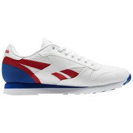 リーボック Reebok メンズ シューズ・靴 スニーカー【Classic Leather MVS Casual Shoe】White/Red