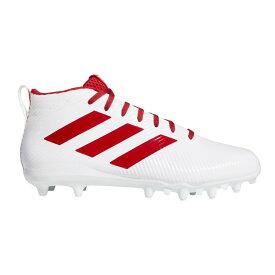 アディダス adidas メンズ アメリカンフットボール スパイク シューズ・靴【Freak Ghost Football Cleat】White/Red
