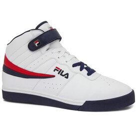 フィラ Fila メンズ バスケットボール シューズ・靴【Vulc 13 Basketball Shoe】White/Blue
