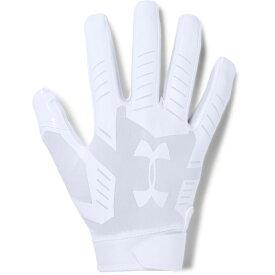 アンダーアーマー Under Armour メンズ アメリカンフットボール グローブ【F6 Football Glove】White/White