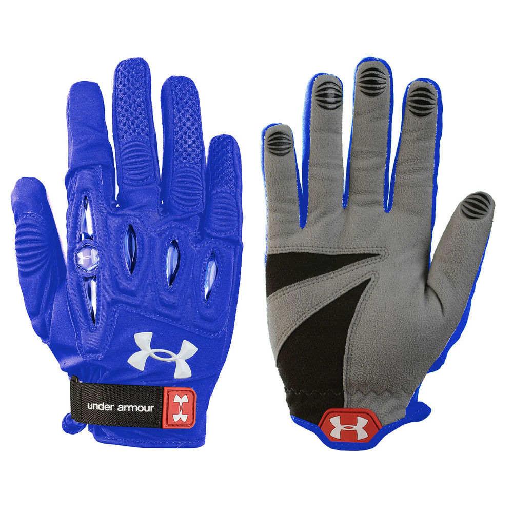 アンダーアーマー Under Armour レディース ラクロス グローブ【Player 2 Lacrosse Glove】Royal
