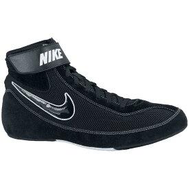 ナイキ Nike メンズ レスリング シューズ・靴【Speed Sweep Wrestling Shoe】Black/Black