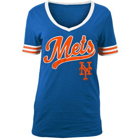 ニューエラ New Era レディース トップス Tシャツ【New York Mets 2018 Varsity T-Shirt】Royal