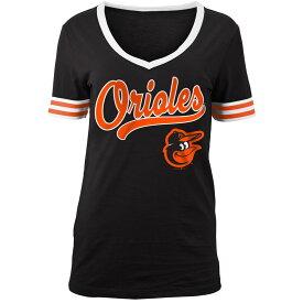 ニューエラ New Era レディース トップス Tシャツ【Baltimore Orioles 2018 Varsity T-Shirt】Black