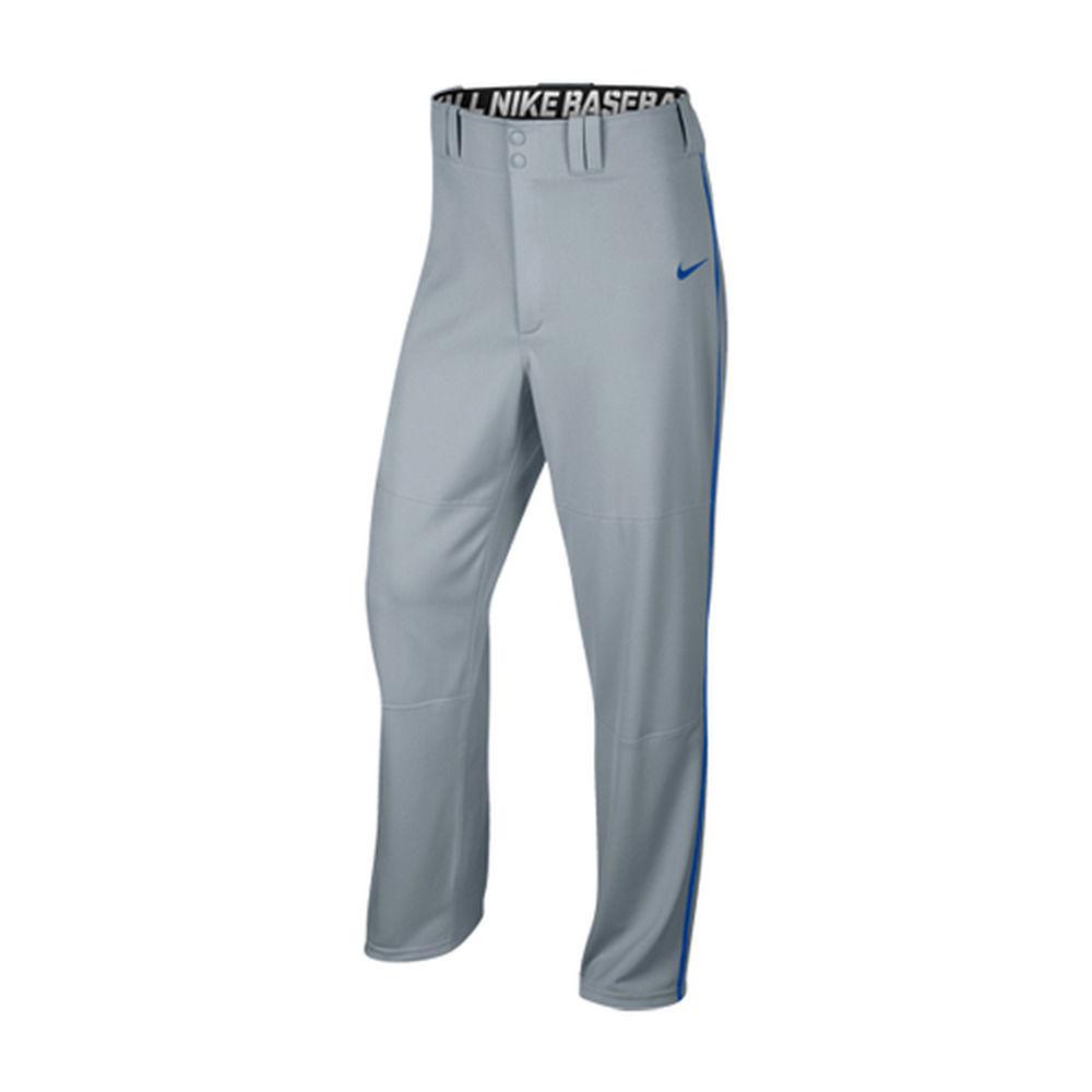 ナイキ Nike メンズ 野球 ボトムス・パンツ【STK Lights Out II Adult Gray/Royal Baseball Pants】Grey/Royal