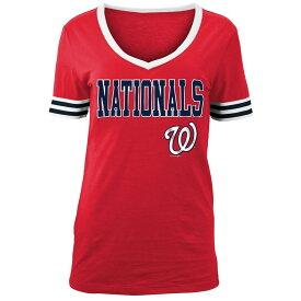 ニューエラ New Era レディース トップス Tシャツ【Washington Nationals 2018 Varsity T-Shirt】Red