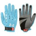 アンダーアーマー Under Armour レディース ラクロス グローブ【Player 2 Lacrosse Gloves】Light Blue