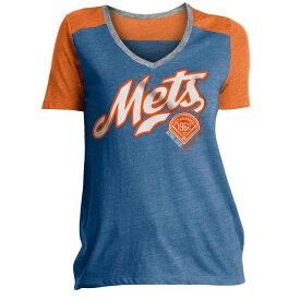 ニューエラ New Era レディース トップス Tシャツ【New York Mets Graphic T-Shirt】Royal