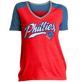 ニューエラ New Era レディース トップス Tシャツ【Philadelphia Phillies Graphic T-Shirt】Red