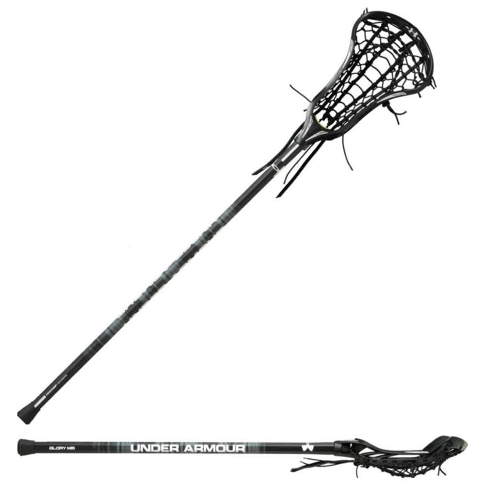 アンダーアーマー Under Armour レディース ラクロス クロス【Glory With Rail Pocket Lacrosse Stick】Black