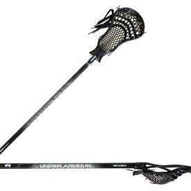 アンダーアーマー Under Armour ユニセックス ラクロス クロス【Adult Nex Gen Complete Attack Lacrosse Stick】Black
