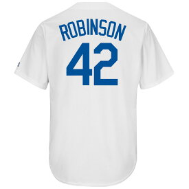 951f2178 マジェスティック Majestic メンズ トップス【Brooklyn Dodgers Adult Jackie Robinson  Cooperstown Collection Jersey】