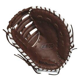 ウィルソン Wilson メンズ 野球 グローブ【2018 A900 12 Inch Right Hand Throw First Base Mitt】Dark Brown