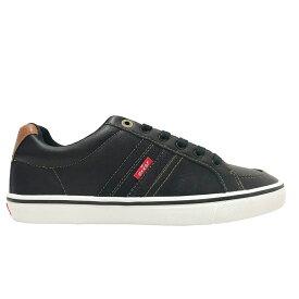 リーバイス Levis メンズ シューズ・靴 スニーカー【Turner Nappa Casual Shoe】Black/White