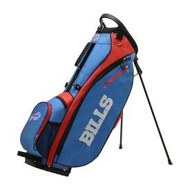 ウィルソン Wilson ユニセックス ゴルフ【Buffalo Bills Carry Golf Bag】Blue