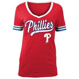 ニューエラ New Era レディース トップス Tシャツ【Philadelphia Phillies 2018 Varsity T-Shirt】Red