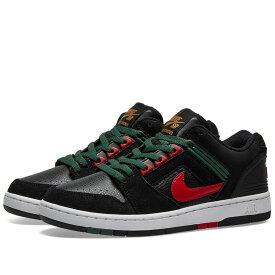 ナイキ Nike SB メンズ スニーカー エアフォース シューズ・靴【Air Force II】Black/Gym Red/Aloe/Gold