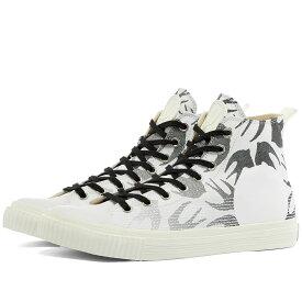 アレキサンダー マックイーン McQ Alexander McQueen メンズ スニーカー シューズ・靴【Swallow High Plimsoll】Optic White/Black