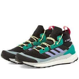 アディダス Adidas メンズ ハイキング・登山 シューズ・靴【Terrex Free Hiker】Black/Purple/Green