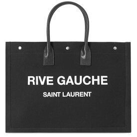イヴ サンローラン Saint Laurent メンズ トートバッグ バッグ【ysl rive gauche tote bag】Black/White