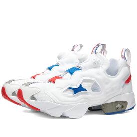 リーボック Reebok メンズ スニーカー シューズ・靴【Instapump Fury OG】White/Red/Blue