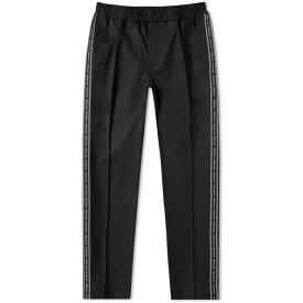 ヴェルサーチ Versace メンズ スウェット・ジャージ ボトムス・パンツ【taped down track pant】Black