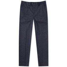 エディフィス Edifice メンズ スキニー・スリム ボトムス・パンツ【jersey slim tapered trouser】Navy