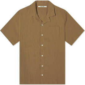 Kestin メンズ 半袖シャツ トップス【Crammond Shirt】Olive