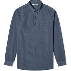 Kestin メンズ シャツ トップス【Granton Shirt】Petrol Blue