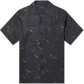 マハリシ Maharishi メンズ 半袖シャツ トップス【Neo-Rain Camo Shirt】Night
