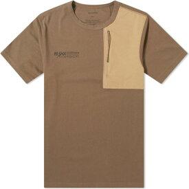 マハリシ Maharishi メンズ Tシャツ ロゴTシャツ トップス【3M Tech Logo Tee】Olive