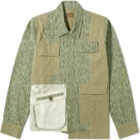 マハリシ Maharishi メンズ ジャケット アウター【Upcycled M60 Chore Jacket】Olive