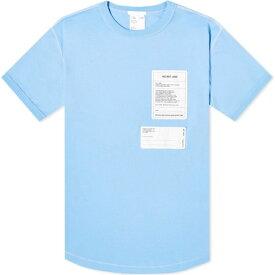 ヘルムート ラング Helmut Lang メンズ Tシャツ ロゴTシャツ トップス【Logo Tee】Pale Saphire