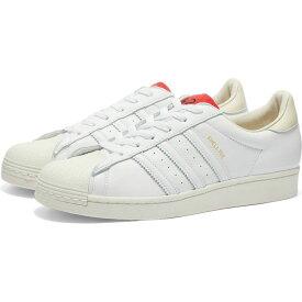 アディダス Adidas Consortium メンズ スニーカー シューズ・靴【adidas x 424 shelltoe】White/Red