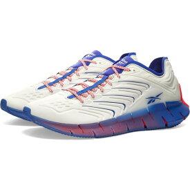 リーボック Reebok メンズ スニーカー シューズ・靴【x chromat zig kinetica】White/Royal Blue