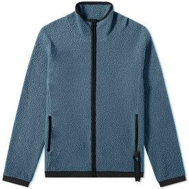 クレイググリーン Craig Green メンズ ニット・セーター トップス【boucle zip up knit】Blue