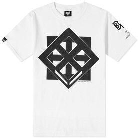 バウンティーハンター Bounty Hunter メンズ Tシャツ ロゴTシャツ トップス【box logo tee】White