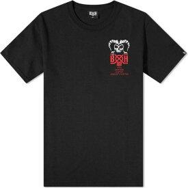 バウンティーハンター Bounty Hunter メンズ Tシャツ トップス【horns tee】Black/Red