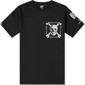 バウンティーハンター Bounty Hunter メンズ Tシャツ トップス【real skull tee】Black