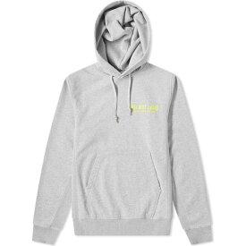 ヘルムート ラング Helmut Lang メンズ パーカー トップス【neon logo hoody】Grey