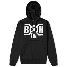 バウンティーハンター Bounty Hunter メンズ パーカー トップス【logo pullover hoody】Black